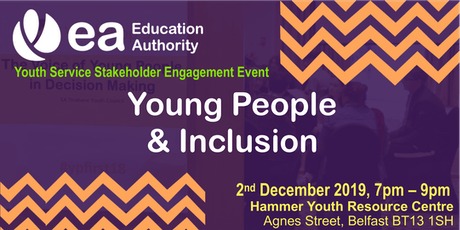 Stakeholder Engagement - Young People & Inclusion tickets