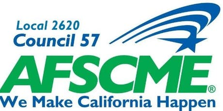 AFSCME Local 2620 Biennial Convention tickets