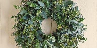 Fresh Eucalyptus Wreath Workshop