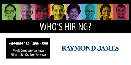 Who's Hiring? Raymond James tickets