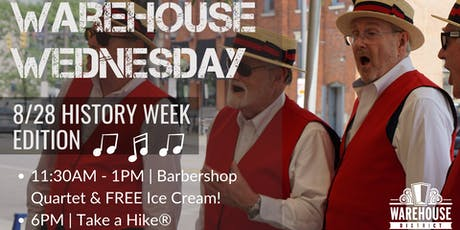 Warehouse Wednesday: History Week Edition tickets