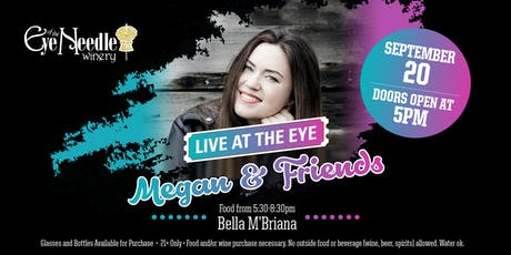 LIVE at the Eye:   Megan Moreau & Friends tickets