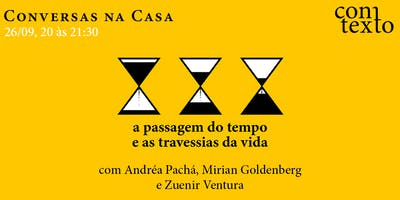 Andréa Pachá & Mirian Goldenberg: conversas na Casa