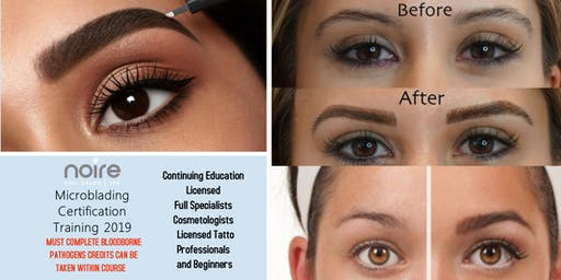 Microblading and Ombre Microshading Courses - Noire Beauty Institute