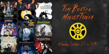 Tim Burton Movies Trivia at Crank Arm Brewing tickets