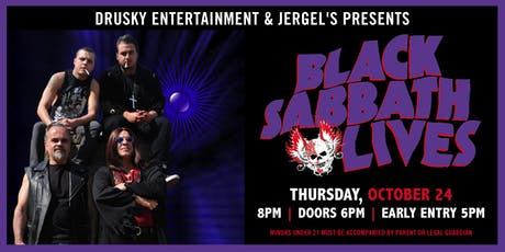 Black Sabbath Lives tickets
