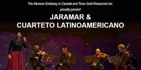 Jaramar & Cuarteto Latinoamericano tickets