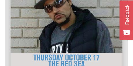Jai Blizz live at the Red Sea tickets