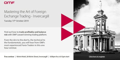Mastering the Art of Foreign Exchange Trading - Invercargill tickets