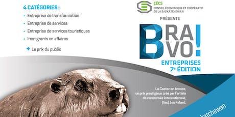 Soirée Gala BRAVO Entreprises ! 7e édition tickets