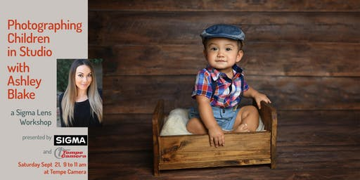 Photographing Children in Studio with Ashley Blake, a Sigma Lens Workshop