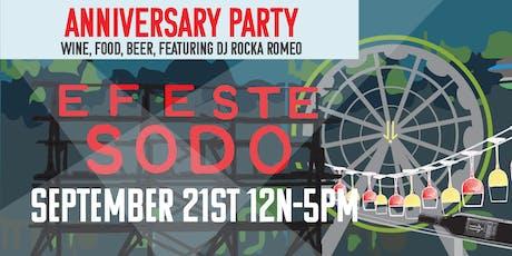 SoDo Turns 2! Anniversary Party! tickets