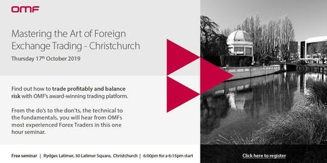 Mastering the Art of Foreign Exchange Trading - Christchurch tickets