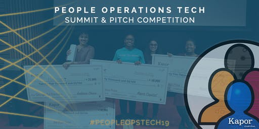 Kapor Capital's 5th Annual People Operations Tech Summit & Pitch Competition