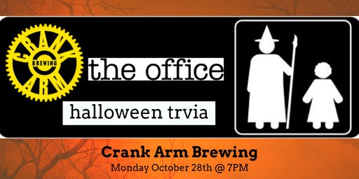 The Office *Halloween Special* Trivia at Crank Arm Brewing