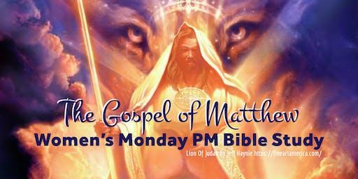 WOMEN OF HOPE Monday PM Bible Study