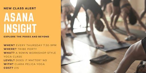 Asana Insight - a different kind of Yoga class.