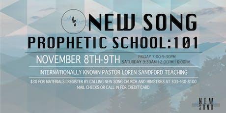 New Song Prophetic School: 101 tickets