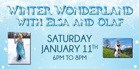 Winter Wonderland with Elsa & Olaf  tickets