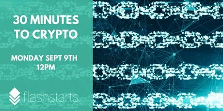 Install your own crypto wallet and become a crypto citizen over lunchtime. tickets