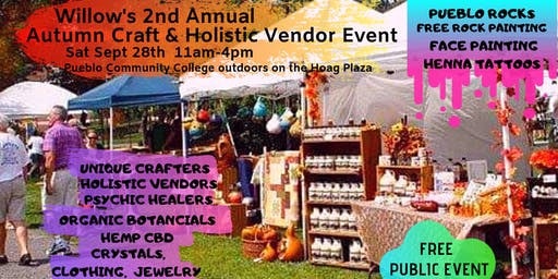 Willow's 2nd Annual Autumn Craft & Holistic Vendor Event