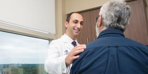 Free Prostate Cancer Screening: DRE Exam