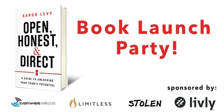Book Launch Party! tickets