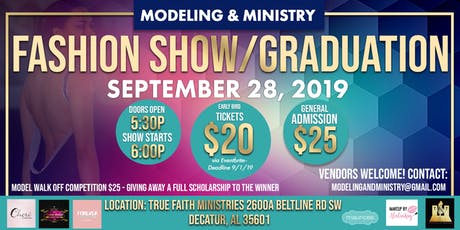 Modeling & Ministry Fashion Show & Graduation  tickets