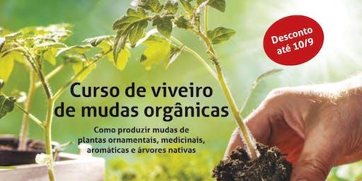 Curso de Viveiro de Mudas Orgânicas