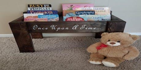 Childrens Book Shelf  $50.00 tickets