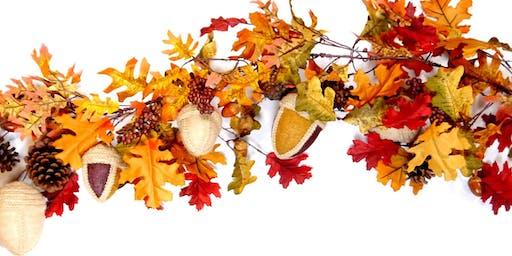 Autumn Leaves - Seasonal Fabric Decorations