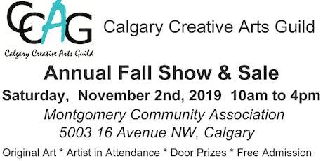 Calgary Creative Arts Guild Fall Sale tickets