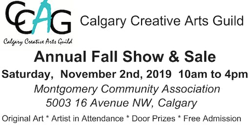 Calgary Creative Arts Guild Fall Sale