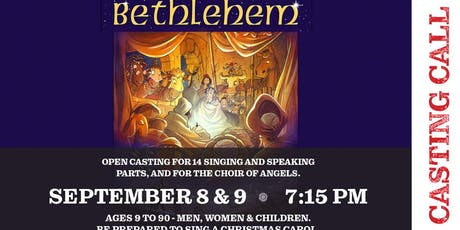 Casting Call for Christmas Musical tickets