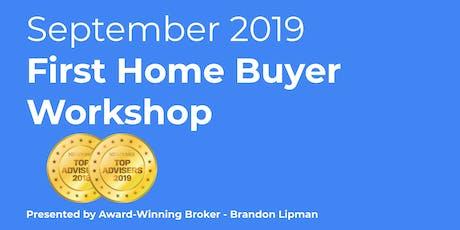 September 2019 First Home Buyer Workshop - Auckland tickets