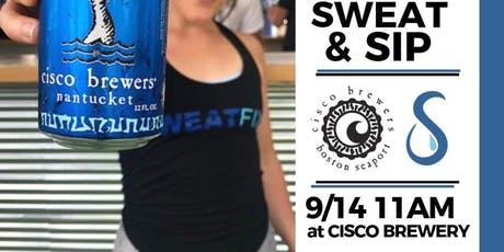 Cisco Brewers Sweat and Sip tickets