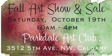 Parkdale Art Club Fall Sale tickets