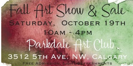 Parkdale Art Club Fall Sale