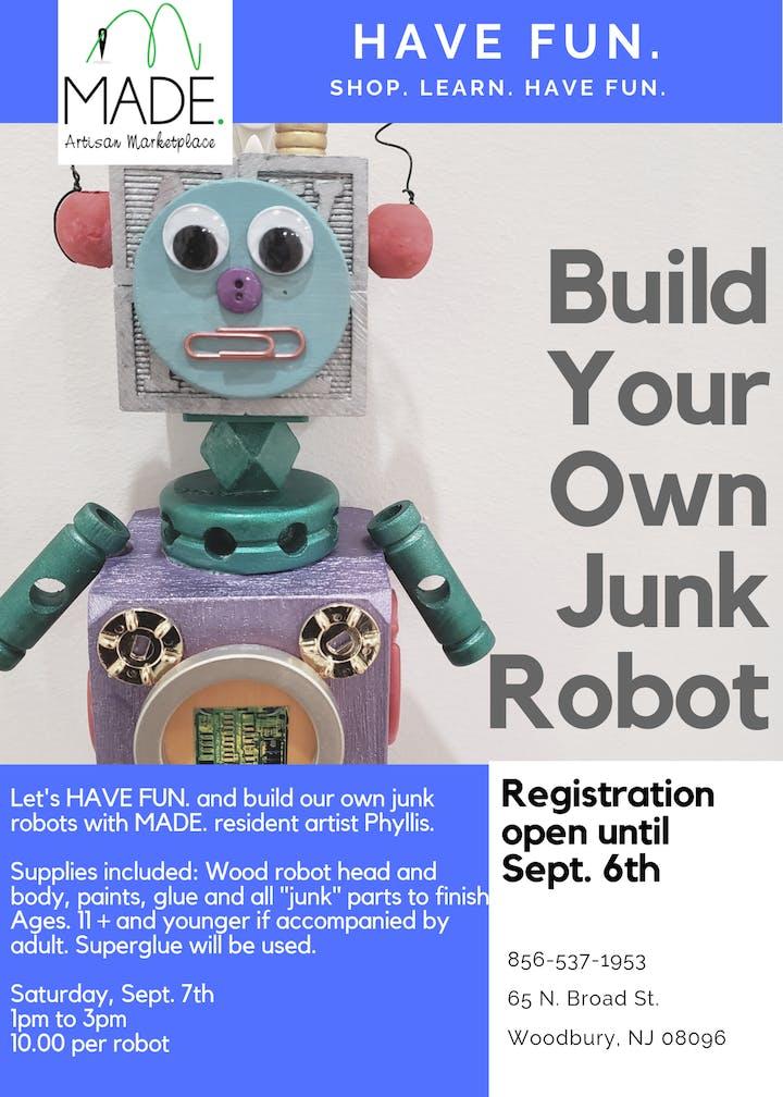 Build Your Own Custom Robot