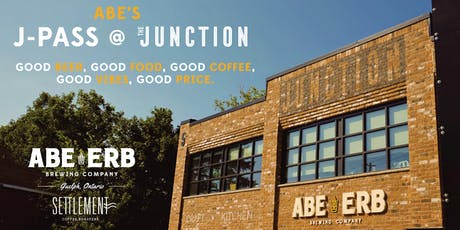 Abe Erb Brew Co. Guelph Junction J-Pass tickets