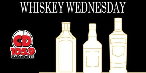 CD 105.9 Whiskey Wednesday at The Library Pub