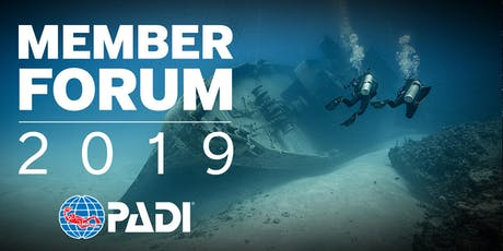 2019 PADI Member Forum - PADI Dive Festival 2019 - São Paulo, Brasil ingressos