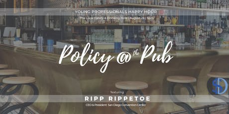 August Policy at the Pub: Convention Center Plan tickets