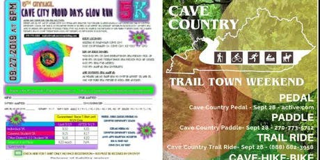 5th Annual Cave City Proud Days Glow Run tickets