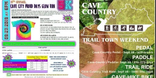 5th Annual Cave City Proud Days Glow Run