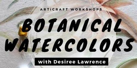 ARTiCRAFT: Brush & Brunch Botanical Watercolor 101 tickets