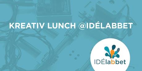 Kreativ lunch med K.V.I.S.T. på Idélabbet tickets