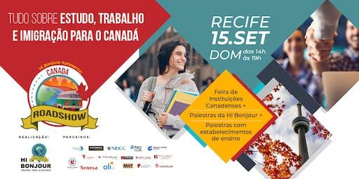 Hi Bonjour – Canada Roadshow - Recife
