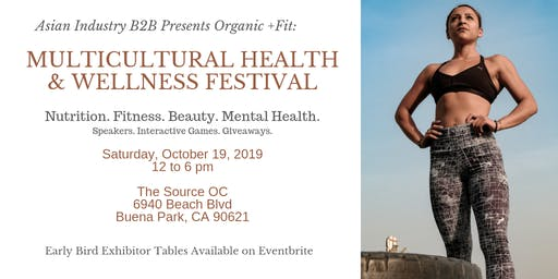 AIB2B Presents Organic +Fit: A Multicultural Health & Wellness Festival