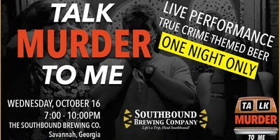 Talk Murder To Me Live: Savannah